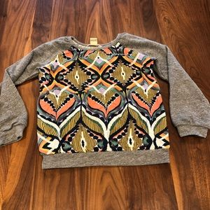 Size 8 Anthem of the Ants Autumn Olive Sweatshirt